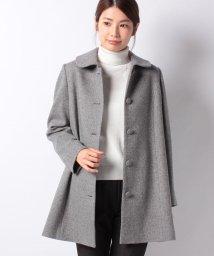 Leilian/【特別提供品】カシミヤショールカラーコート/502815458