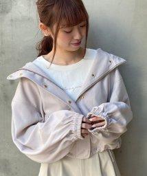 MAJESTIC LEGON/ポヨン袖ショートブルゾン/502853483