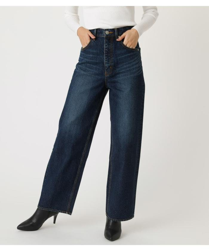 HIGH WAIST DENIM WIDE 2