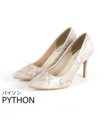Vivian/ポインテッドトゥ9.5cmキレイめパンプス/502890859