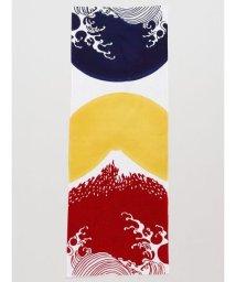KAYA/【カヤ】注染手ぬぐい 波と富士山 7JRP0101/502891001