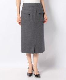 Leilian/【特別提供品】ポケット付きタイトスカート/502815505