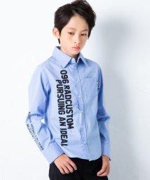 RAD CUSTOM/ストレッチブロードプリントシャツ/502816201