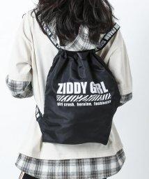 ZIDDY/ロゴテープナップサック/502859087
