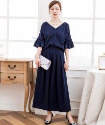 DRESS STAR/2WAY仕様ブラウス&ワイドパンツセットアップドレス・結婚式ワンピース/502882486