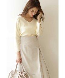 PROPORTION BODY DRESSING/◆袖パールVネックニット/502884237