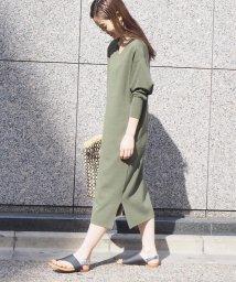 fredy emue/【WEB限定】三角袖ニットワンピース/502888499