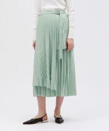 LOVELESS WOMEN/プリーツ ラップスカート/502890590