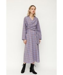 SLY/AIRY CHECK TWIST TIE ドレス/502891717