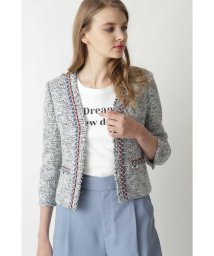 Pinky&Dianne/◆ブレードトリミングカラーツイードジャケット/502891799