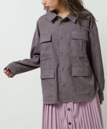 DOUBLE NAME/4つポケBIGシャツ/502892267
