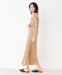 SHOO・LA・RUE DRESKIP/【M-L/2点セット】畦編みニット+スカート ニットアップ/502892559