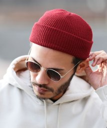 JIGGYS SHOP/ショートリブワッチ / ニット帽 メンズ 帽子 ビーニー ニットキャップ リブワッチ/502892574