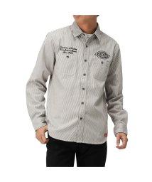 MAC HOUSE(men)/Dickies ディッキーズ 刺繍ワークシャツ 0170-4400/502892815