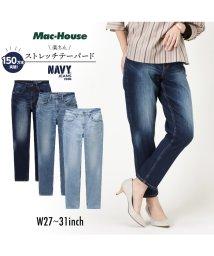 MAC HOUSE(women)/Navy ネイビー NAVY JEANS サスティナブル テーパード 濃色加工 NJ-S-W003-57/502892878