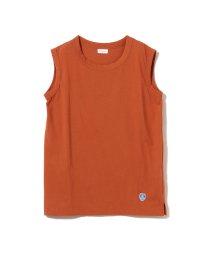 Ray BEAMS/【WEB限定】ORCIVAL クルーネック ノースリーブ Tシャツ/502892908