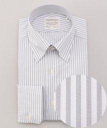 gotairiku/【形態安定】PREMIUMPLEATS ドレスシャツ / スナップボタンカラー/502895479