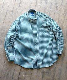 BEAMS MEN/BEAMS / ギンガムチェック イージ ミニボタンダウンシャツ/502872584