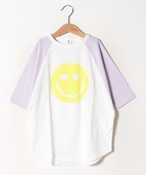 JEANS‐b2nd/SMILE ロングTシャツ/502885467