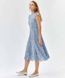LANVIN en Bleu/ケミカルレースワンピース/502885608