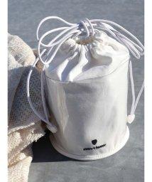 merry jenny/PVC×コットン巾着bag/502895716