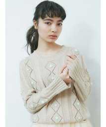 merry jenny/floral flare knit/502895718