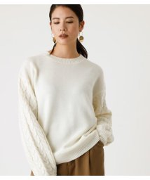 AZUL by moussy/ARM CABLE KNIT TOPS/502895728