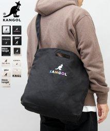 AMS SELECT/【KANGOL/カンゴール】ロゴプリントキャンバス2WAYショルダーバッグ/ハンドトート/502896141