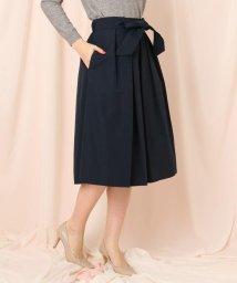 Couture Brooch/【WEB限定サイズ(LL)あり/手洗い可】ボリュームフレアスカート/502896624