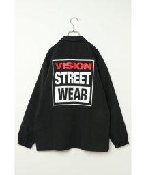 VENCE EXCHANGE/【VISION】ビジョン マグロゴ開襟シャツ/502898776