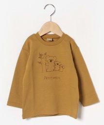 petit main/動物刺繍プルオーバー/502744827