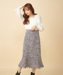 MIIA/ツィードマーメイドスカート/502898926