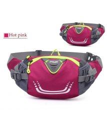 miniministore/ウエストバッグ ボトルホルダー付き スポーツバッグ 男女 ショルダーバッグ 軽量 ポーチ 大容量 登山/502899550
