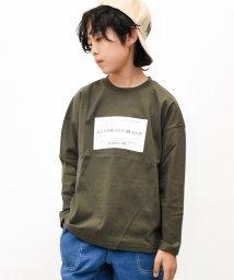 GLORIES LINE/ボックスロゴ長袖Tシャツ/502900249