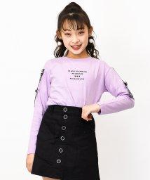 RiCO SUCRE/袖ベルトロングTシャツ/502900253