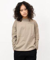 RAT EFFECT/リメイク風ビッグ長袖Tシャツ/502900263