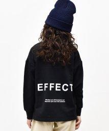 RAT EFFECT/バックプリントビッグトレーナー/502900265