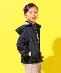 KUMIKYOKU KIDS/【撥水加工/110-140cm】マーガレットプリント ブルゾン/502900814