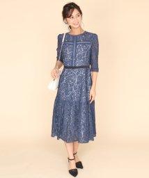 SCOTCLUB/Rire Fete(リルフェテ) フラワーレースデザインドレス/502881536
