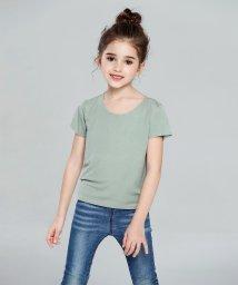 aimoha/切りっぱなしU型Teeシャツ/502885844