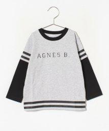 agnes b. ENFANT/SCP9 E TS キッズ ロゴTシャツ/502895839