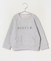 agnes b. ENFANT/SCP9 E SWEAT キッズ ロゴスウェット/502895840