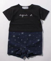 agnes b. ENFANT/TBR3 L CONBI ベビー ドッキングロンパース/502895842