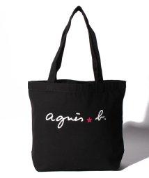 agnes b. ENFANT/KH85 E BAG ロゴトートバッグ/502895847