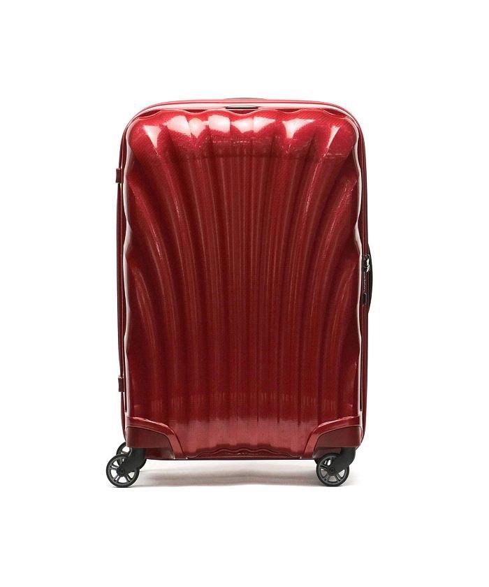 ギャレリア サムソナイト スーツケース Samsonite Cosmolite Spinner 69 TSAロック 68L 5〜6泊 V22−306 ユニセックス レッド F 【GALLERIA】