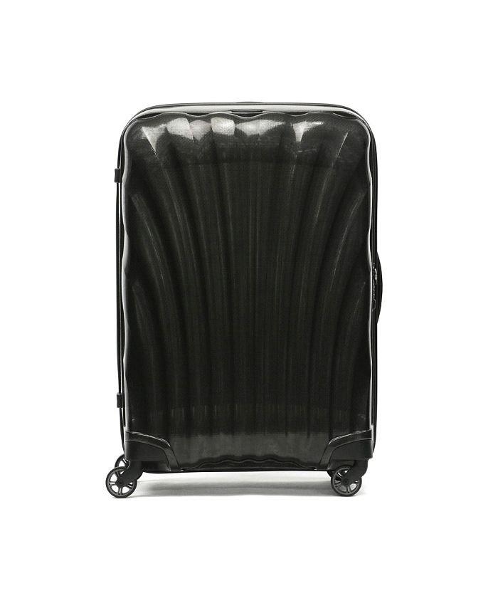 ギャレリア サムソナイト スーツケース Samsonite Cosmolite コスモライト Spinner 75 94L 10〜14泊 V22−304 ユニセックス ブラック F 【GALLERIA】