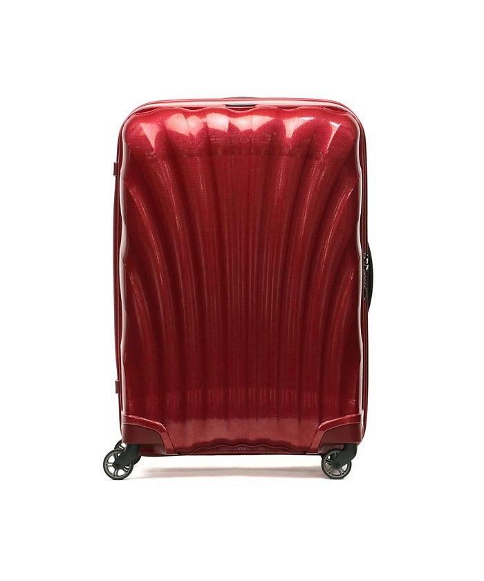 ギャレリア サムソナイト スーツケース Samsonite Cosmolite コスモライト Spinner 75 94L 10〜14泊 V22−304 ユニセックス レッド F 【GALLERIA】