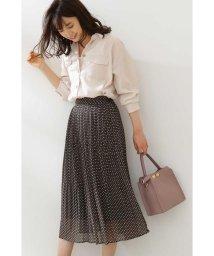 PROPORTION BODY DRESSING/◆ランダムドットシアープリーツスカート/502901052