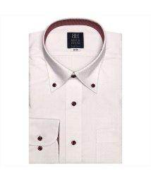 BRICKHOUSE/ワイシャツ長袖形態安定 ボタンダウン ピンク系/502901157