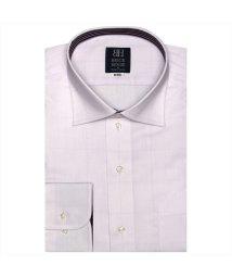 BRICKHOUSE/ワイシャツ長袖形態安定 ワイド ピンク系/502901189